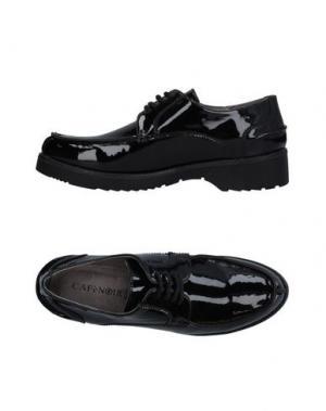 Обувь на шнурках CAFèNOIR. Цвет: черный