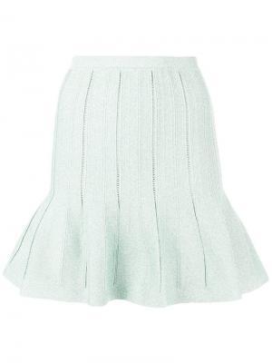 Flared short skirt Alberta Ferretti