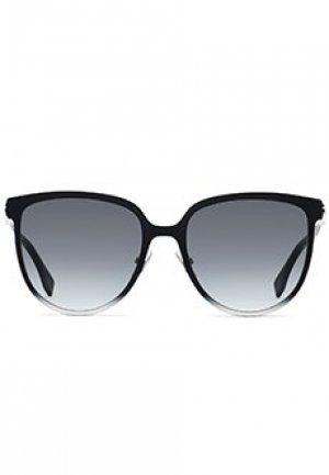 Солнцезащитные очки FENDI. Цвет: серый