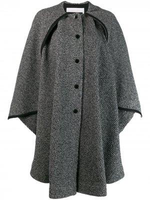 Oversized cape coat See By Chloé. Цвет: черный