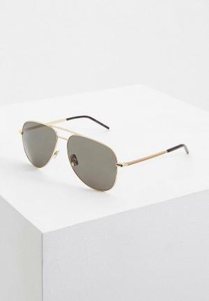 Очки солнцезащитные Saint Laurent CLASSIC 11 FOLK004. Цвет: золотой