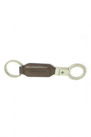 Аксессуар для ключей Narvin. Цвет: коричневый