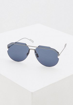 Очки солнцезащитные Christian Dior Homme ANDIORID KJ1. Цвет: черный