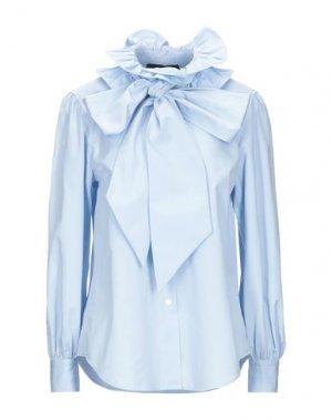 Pубашка MARC JACOBS. Цвет: небесно-голубой
