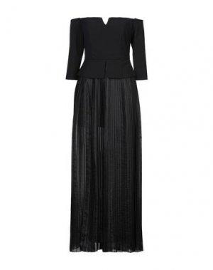 Длинное платье RELISH. Цвет: черный