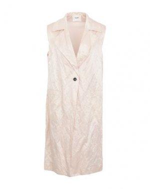 Легкое пальто SUOLI. Цвет: светло-розовый
