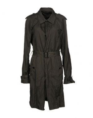 Легкое пальто HUSKY. Цвет: темно-зеленый