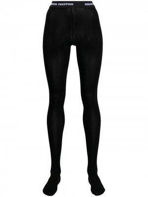 HP TIGHTS BLACK Heron Preston. Цвет: черный