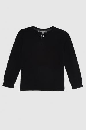 Пуловер Bonpoint. Цвет: черный