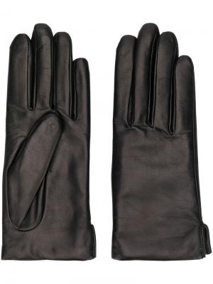 Базовые перчатки Agnelle. Цвет: черный