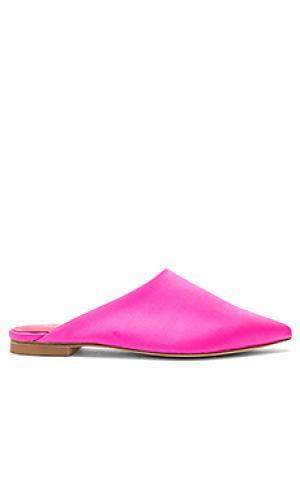Шлепанцы kandie RAYE. Цвет: розовый
