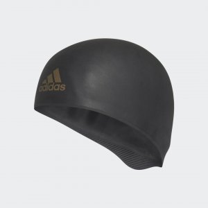 Плавательная шапочка Adizero XX Competition Performance adidas. Цвет: черный
