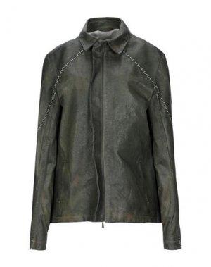 Куртка 10SEI0OTTO. Цвет: темно-зеленый