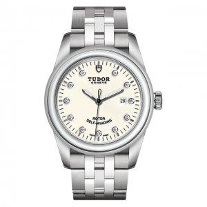 Часы Glamour Date Tudor. Цвет: белый