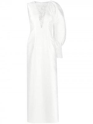 Свадебное платье Lorelai Parlor. Цвет: белый