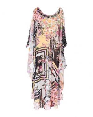 Длинное платье ALESSANDRO LEGORA. Цвет: розовый