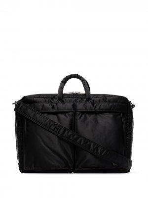 Портфель на молнии Porter-Yoshida & Co.. Цвет: черный