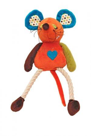 Игрушка для собак мягкая ROSEWOOD. Цвет: оранжевый