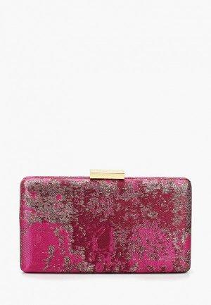Клатч Olga Berg. Цвет: розовый