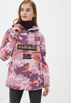 Куртка утепленная Napapijri RAINFOREST. Цвет: розовый