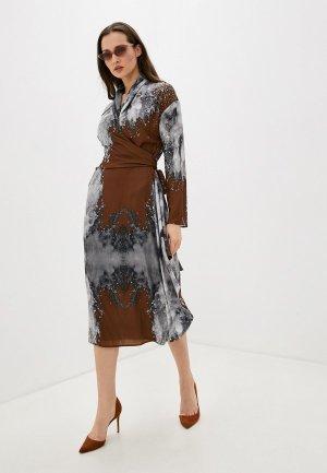 Платье Adolfo Dominguez. Цвет: разноцветный