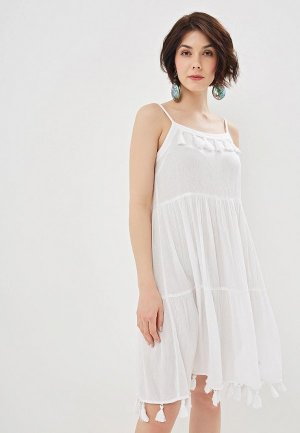 Платье пляжное Marks & Spencer. Цвет: белый