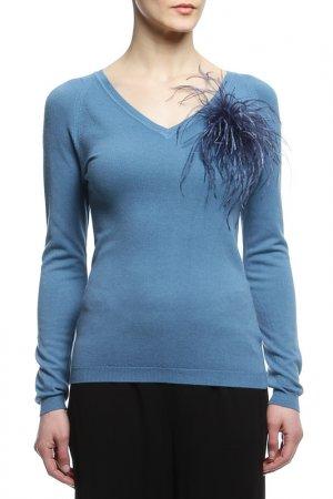 Пуловер 22MAGGIO. Цвет: голубой