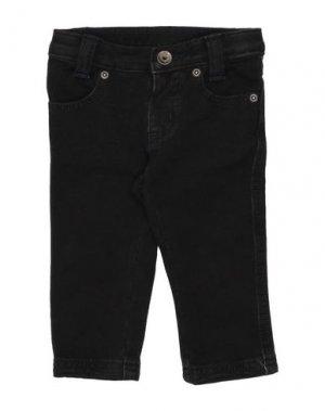 Джинсовые брюки BRUMS. Цвет: черный