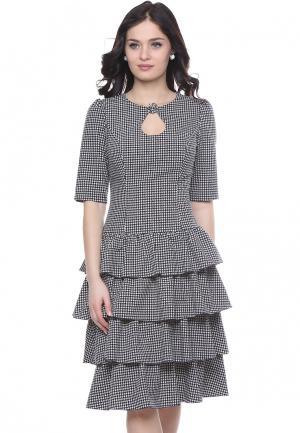 Платье Grey Cat MAURY. Цвет: разноцветный