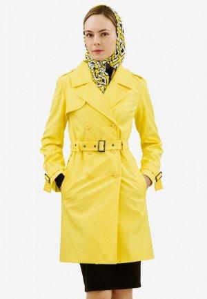 Плащ Doctor E. Цвет: желтый