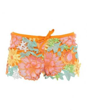 Повседневные шорты AGOGOA. Цвет: оранжевый