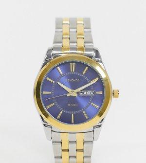 Наручные часы с синим циферблатом -Серебряный Sekonda