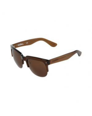 Солнечные очки GREY ANT. Цвет: темно-коричневый