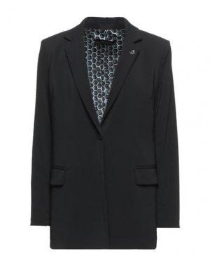 Пиджак EMMA & GAIA. Цвет: черный
