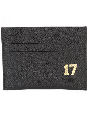 Визитница 17 Givenchy. Цвет: чёрный