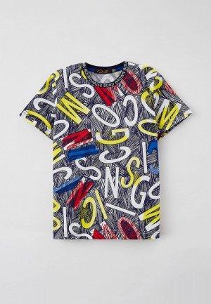 Футболка Dali. Цвет: разноцветный
