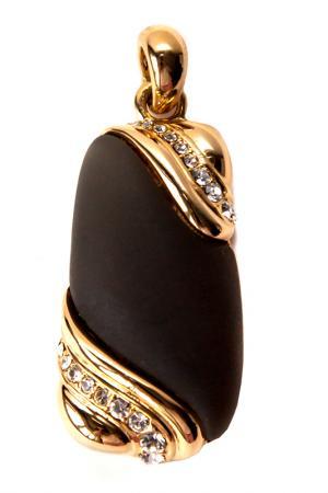Кулон без цепочки Inesse M. Цвет: золотой, темно-оливковый, хаме