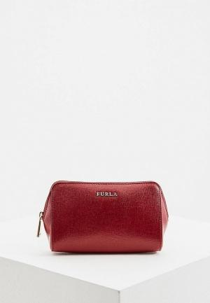 Косметичка Furla ELECTRA. Цвет: бордовый
