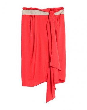 Юбка до колена COAST WEBER & AHAUS. Цвет: красный