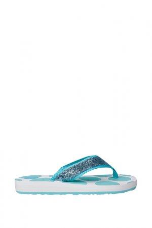 Шлепанцы пляжные Gioseppo. Цвет: голубой