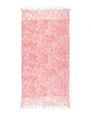 Пляжное полотенце ICONIQUE. Цвет: коралловый
