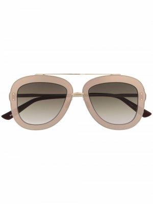Солнцезащитные очки-авиаторы Nomina Christian Roth. Цвет: 0074 gld