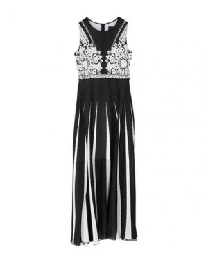 Длинное платье CLIPS. Цвет: черный