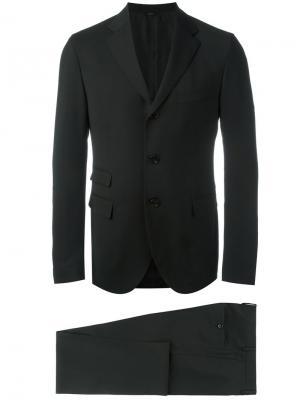 Деловой костюм Fendi. Цвет: черный