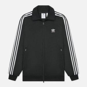 Мужская олимпийка Adicolor Classics Beckenbauer Primeblue adidas Originals. Цвет: чёрный