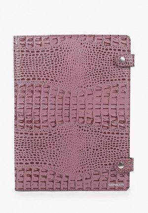Обложка для документов Cashalots. Цвет: розовый