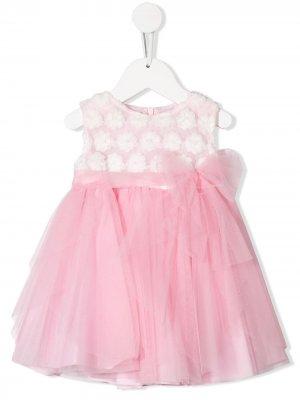 Платье с деталью из тюля Aletta