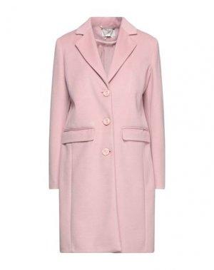 Пальто FRACOMINA. Цвет: розовый