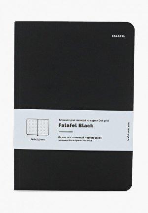 Блокнот Falafel. Цвет: черный