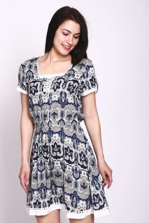 Платье Locust. Цвет: разноцветный